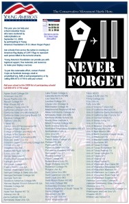 911-Never Forget YAF