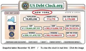 ny debt clock